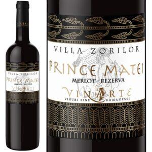 Vinarte Prince Matei Merlot 2009 ヴィナルテ プリンス マテイ メルロ 2009年