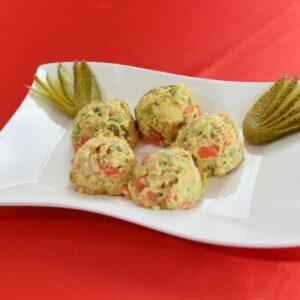 Salata de beoufe ルーマニアンポテトサラ 2