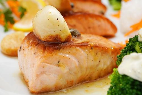 Salmon a la Mihai  サーモンアラミハイ